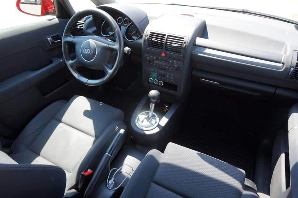 audi a2 1 2 tdi an 2005 mica publicitate. Black Bedroom Furniture Sets. Home Design Ideas