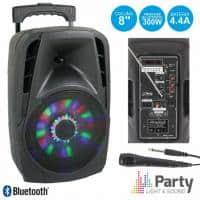 Boxa portabila Bluetooth 300W cu Radio FM,USB/SD