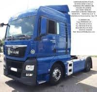 CAP TRACTOR MAN TGX 18.480 Euro 6-LEASING DE LA 10%