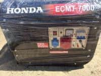 Vand Generator eletric Honda ECMT-7000+motopompa Honda WT40X