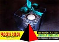 Cutii pentru lumanari cadou Process Color
