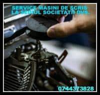 Reparatie masina de scris0744373828.Oferim suportul necesar pentru dia
