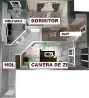 Cartierul Visoianu Iasi - Apartamente cu 1,2, 3 camere