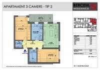 Apartament decomandat cu 3 camere decomandate la 3 min de metrou