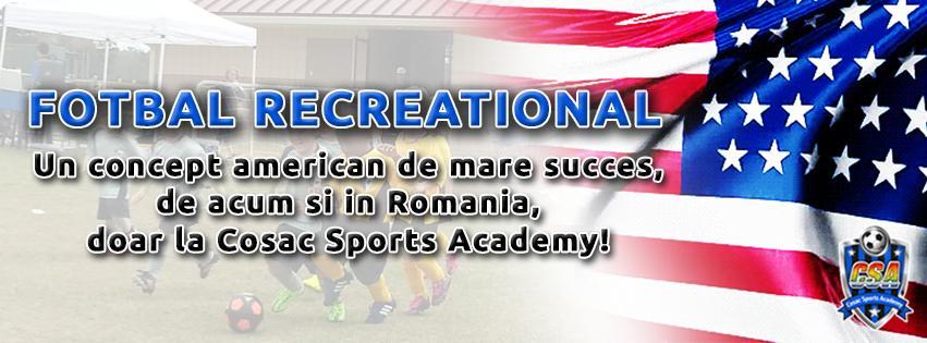 Inscrie-ti copilul la Fotbal Recreational