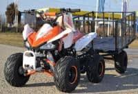 ATV Hercules MX125, import germania, Casca Bonus