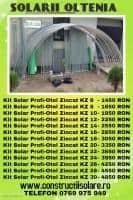 Kit Solar Profi-Otel Zincat KZ 22/3650