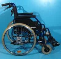 Scaun cu rotile din otel second hand Ortopedia / 42 cm