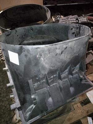 Difuzor radiator MB Atego 815