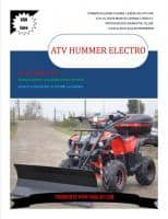 Atv125cc X-Trikers  Hummer Electro Rg7 Power48w