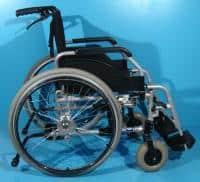 Scaun handicap cu rotile ieftin second hand-50 cm