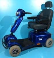 Scuter electric pentru handicap second Invacare Auriga