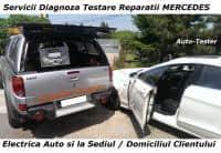 Diagnoza MERCEDES testare cu STAR service electrica auto la domiciliu