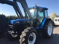 Vand tractor NewHolland 7740