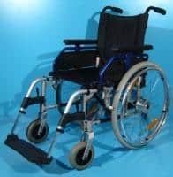 Scaun invalid de aluminiu pentru handicap Uniroll / 45 cm