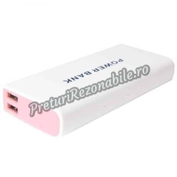 Acumulator Extern Power Bank 15000mAh Pentru Telefon, Tableta, Ipad