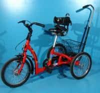 Tricicleta ortopedica pentru copii cu probleme