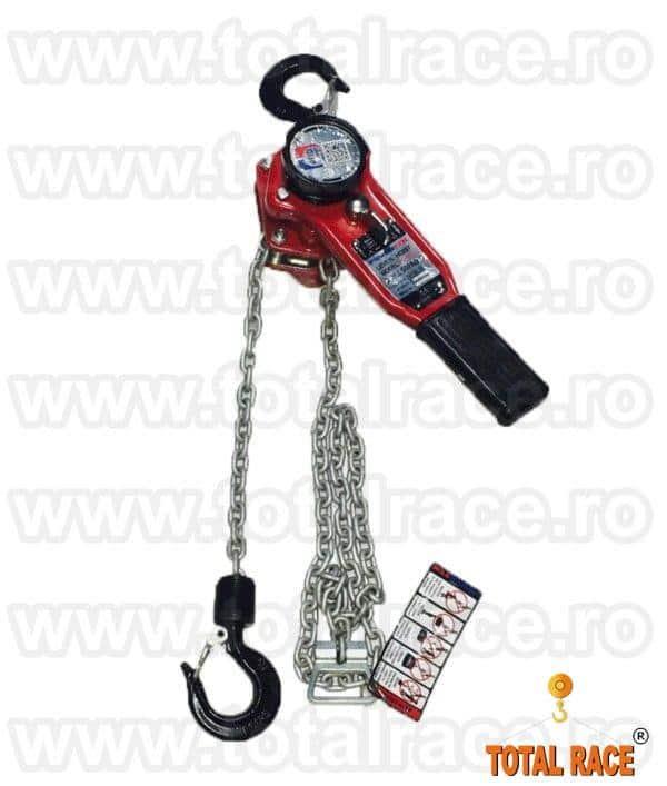 Palan mecanic cu levier pentru tensionare cabluri