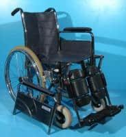 Carucior pentru deplasare a invalizilor cu suporti reglabili