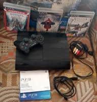 Consola Sony Playstation 3 Super Slim, 500 GB