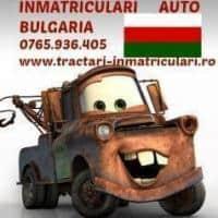 Inmatriculari auto Bulgaria
