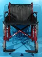 Scaun cu rotile -latime sezut 56 cm (suporta 170kg)