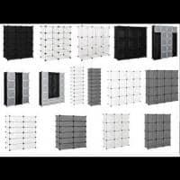 [neu.haus]®Dulap haine  - DIY sistem asamblare raft