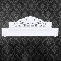 [neu.holz] Cuier de perete pentru hol - vintage - manufactura - alb