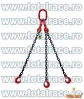 Dispozitive de ridicare din lant cu 3 brate cu carlige