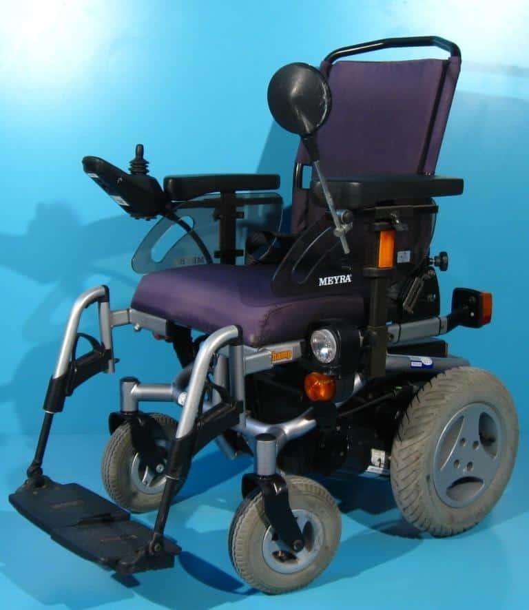 Carucior handicap electric second hand Meyra Champ