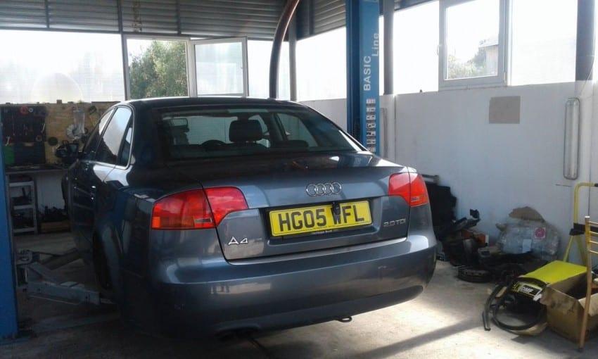Dezmembrez Audi A4 B7, 2L cod BLB, 140 cp