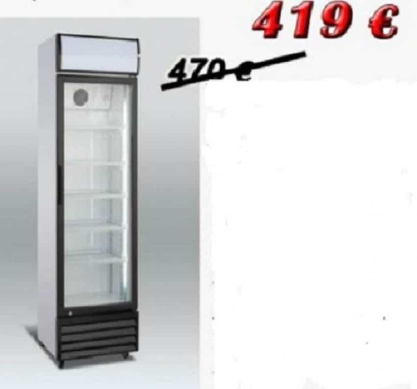 Vitrina frigorifica verticala cu o usa SCAN noua