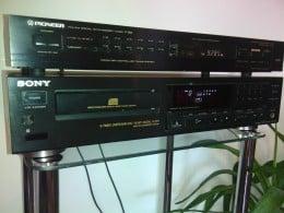 Vand CD SONY CDP-590 + tuner PIONEER F-55