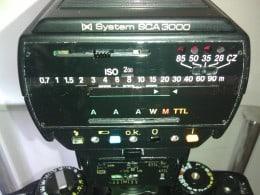 Vand blitz METZ 32MZ-3 mecablitz+adaptor de patina SCA 3101