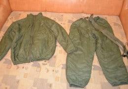 costum termic militar -nou ,marimea  52-54 III, verde.