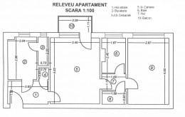 Apartament 2 camere zona Cantemir, Iasi