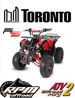 ATV HUMMERX RG8''S