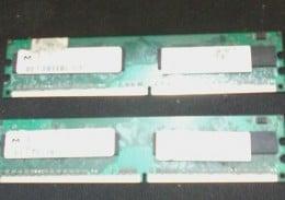 Vand 2 Memorii RAM Lenovo 512 MB,DDR2