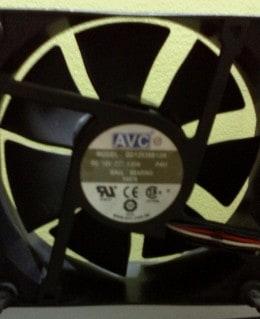 Vand ventilator 120 mm  AVC-Model DD12038B