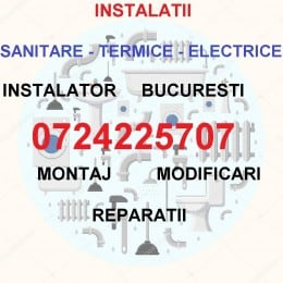 Instalatii Termice-Sanitare-Gaze-Electrice Bucuresti