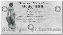 Statueta Mata Hari din beton model S28.
