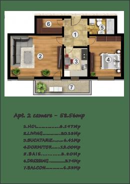 2 camere, Noul Confort Urban