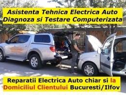 Diagnoza testare reparatii electrica auto la domiciliu