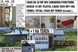 Casa, Anexa, Teren 1,5 ha.