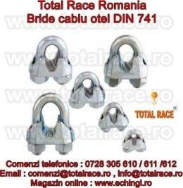 Bride si cleme cablu