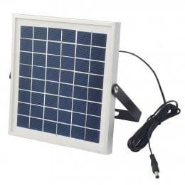 Proiector LED 10W cu Panou Solar Alb Rece