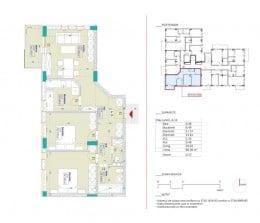 Apartament decomandat cu 3 camere, Metalurgiei65.900 EUR Apartament decomandat cu 3 camere, Metalurgiei