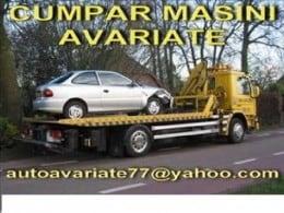 Cumpar auto avariate lovite daune totale epave