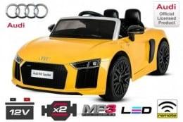 Mașină electrică Audi R8 Spyder 2x 35W 2X6V (12V) 2.4G RC EVA Anvelope moi