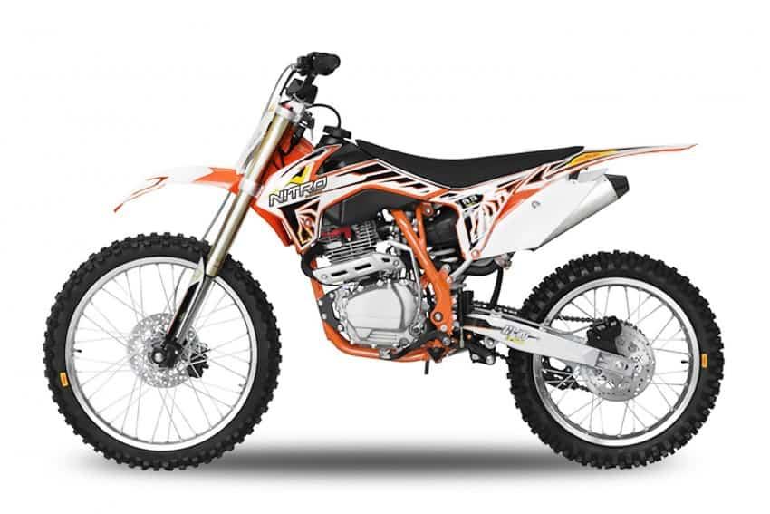 Motocicleta Nitro 250cc DirtBike Tornado M21/18